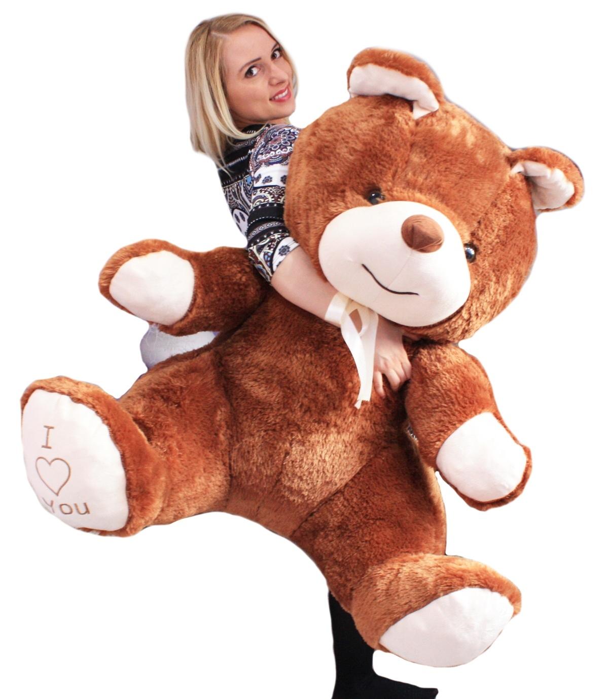 "Ours en peluche géant    Broderie ""I you"", love you"", ""I Jouet enfant, Teddy Bear 80cm 81abe5"